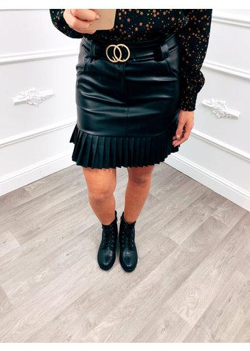 Wanted Belt Skirt