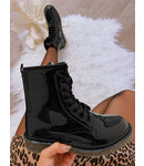 Lak Boots Zwart