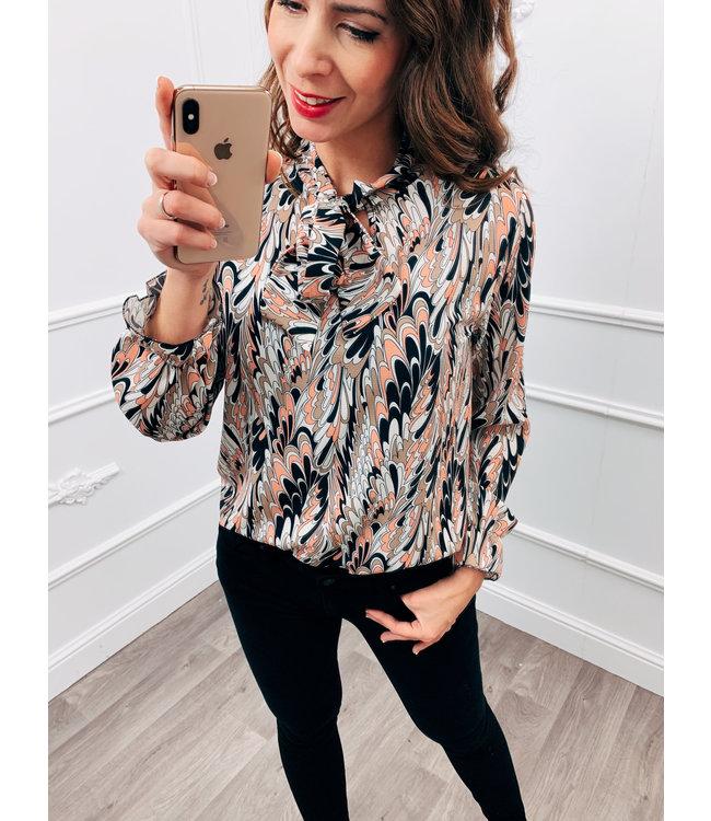 Vibe blouse Roze