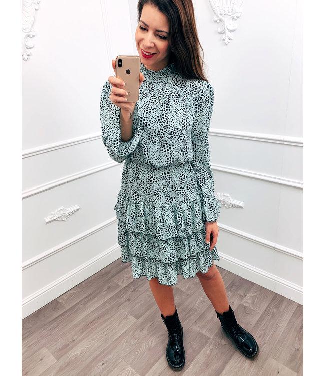 Spot On Dress Mint Groen