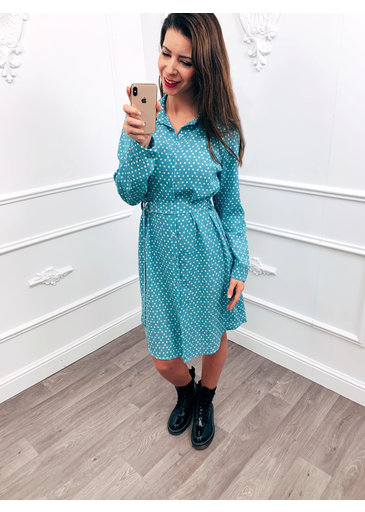 Hypnose Dress Blauw