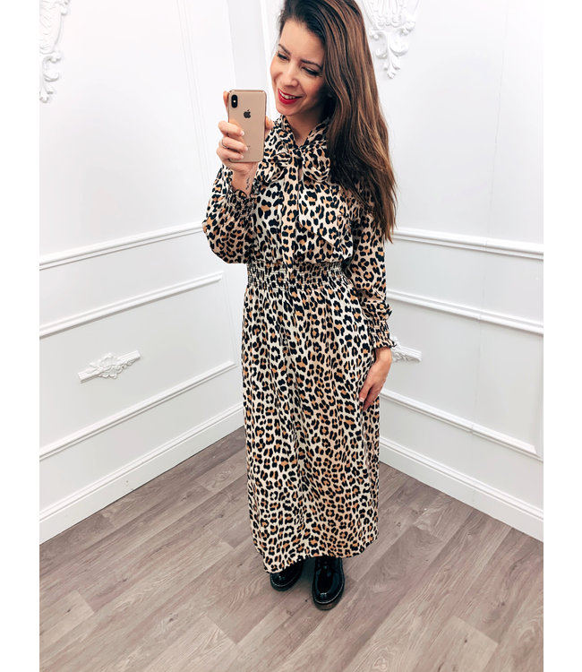 Special Panter Dress Bruin