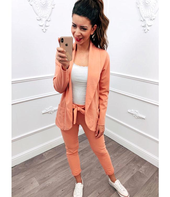 Suit Oud Roze