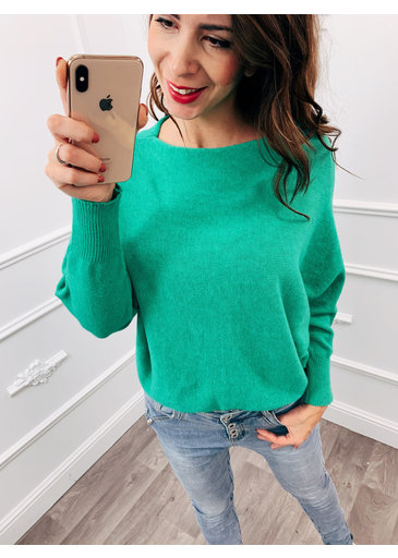 Wing Sweater Groen