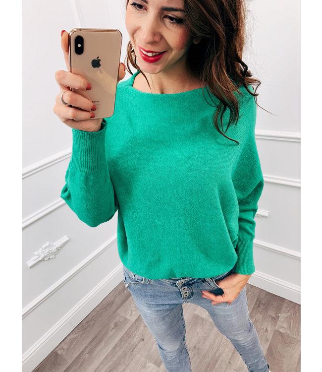 Wing Sweater Groen