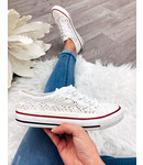 Lace Sneakers Wit