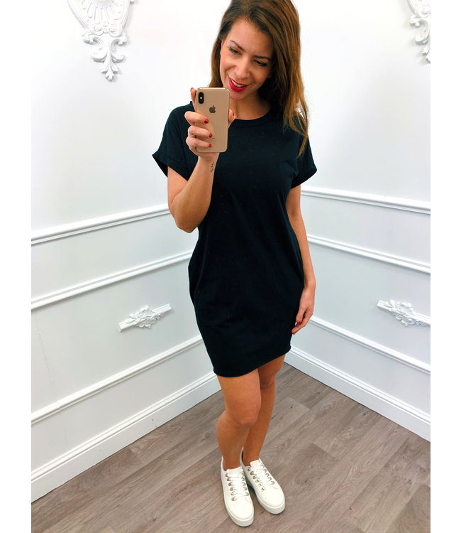 Basic Summer Dress Zwart