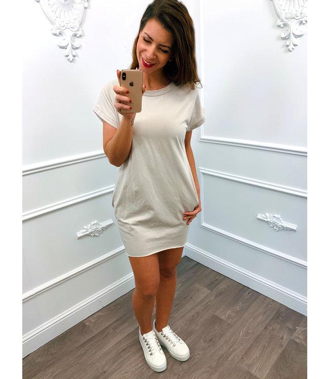 Basic Summer Dress Beige