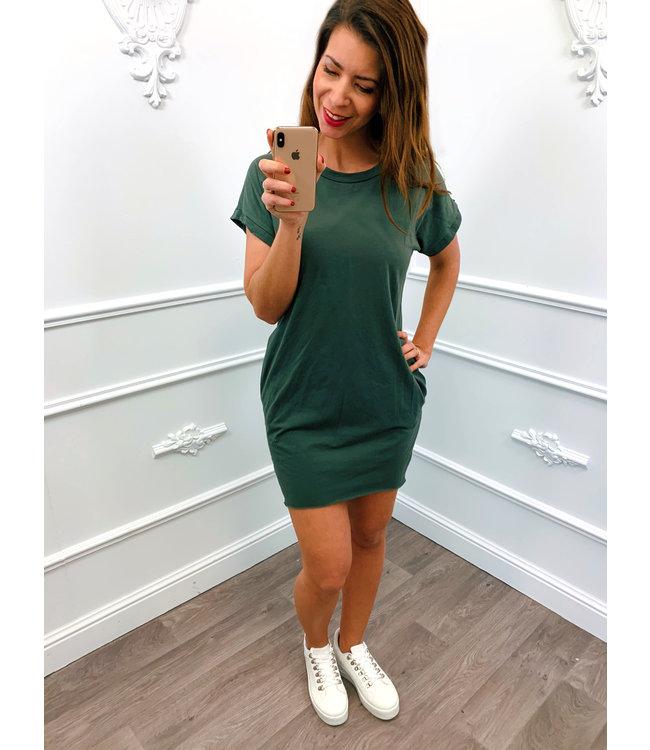 Basic Summer Dress Groen
