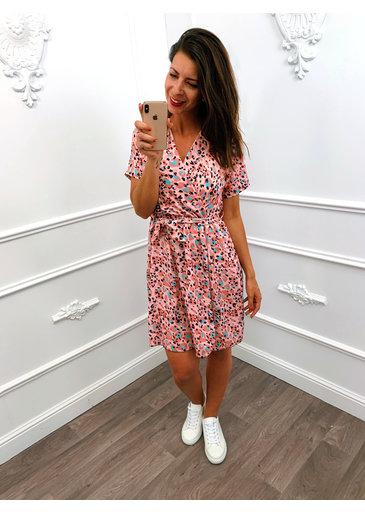 Joy Panter Dress Pink