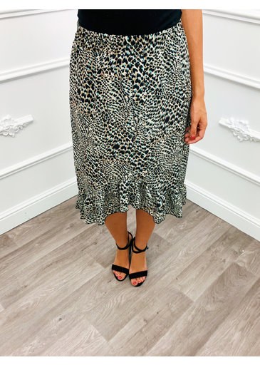 Cheetah Love rok Midi