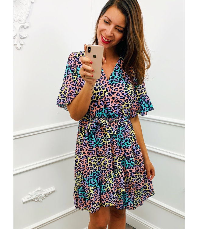 Colorful Panter dress