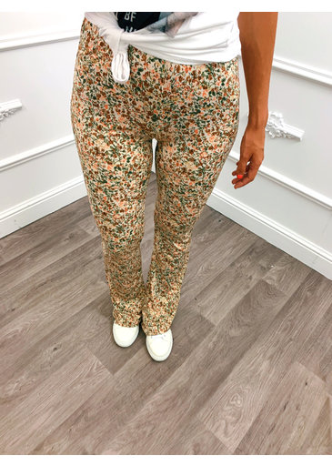 Perfect Flower Flared Pants