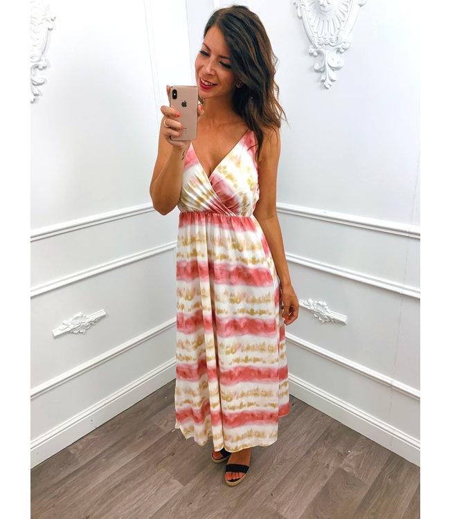 Tie Dye Dress Pink