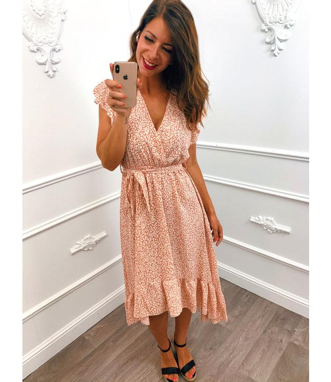 Little Flower Dress Pink