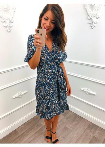 Perfect Flower Dress Blue