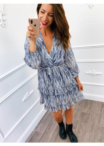 Limpid Dress Blauw