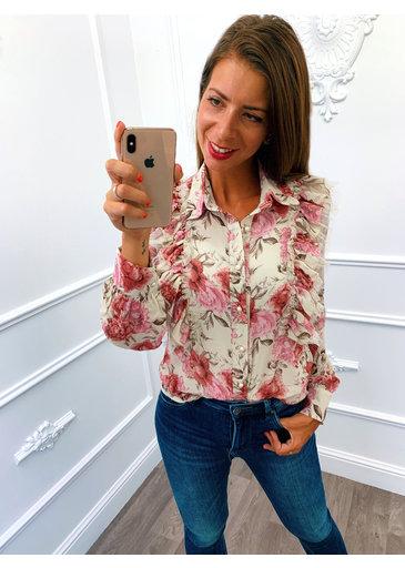 Roezel Blouse Roze