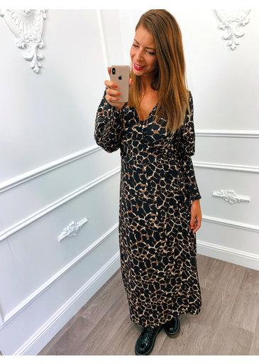 Maxi Wrap Dress Bruin