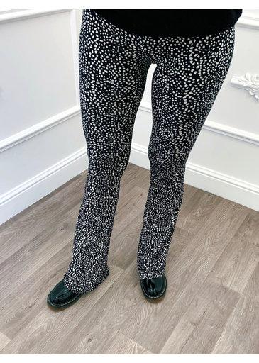 Cheetah Flared Pants