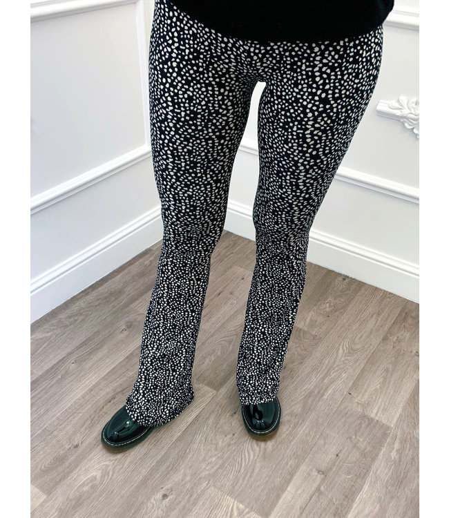 Cheetah Flared Pants