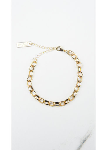 Small Chain Bracelet Gold