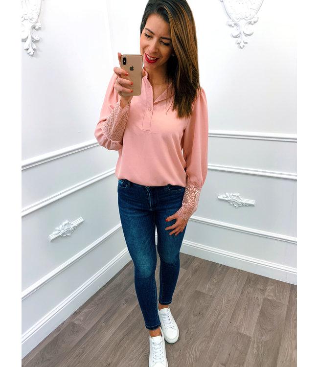 Blouse Elegant Roze