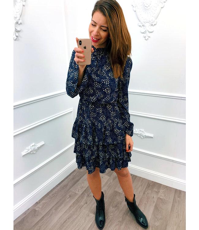 Spot On Dress Blauw
