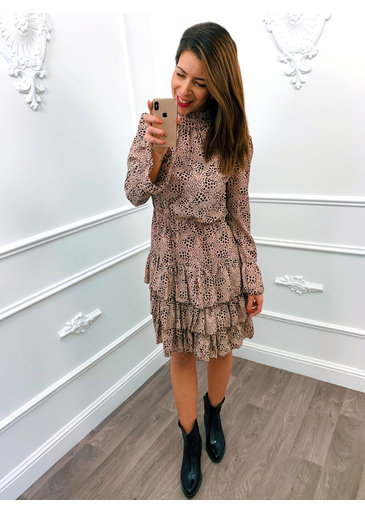 Spot On Dress Roze