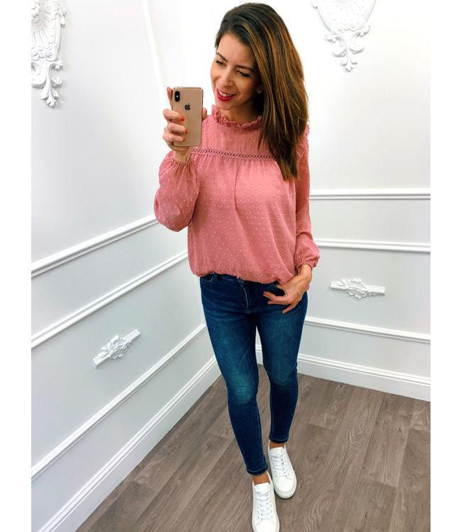 Pretty Blouse Roze