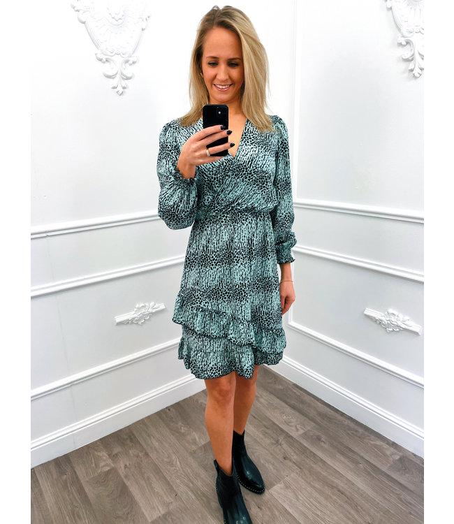 Joyous Dress Mint Groen