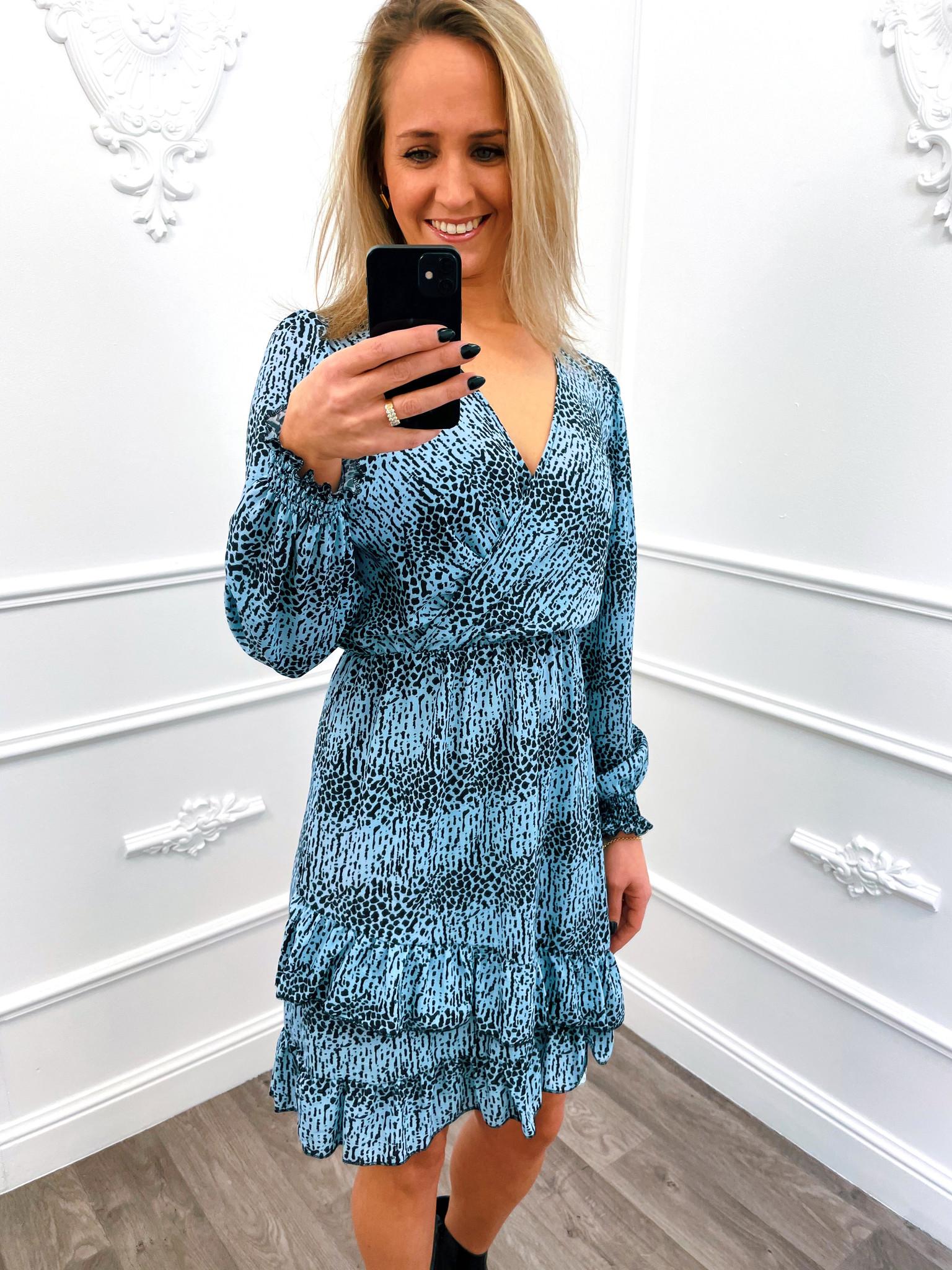 Joyous Dress Blauw