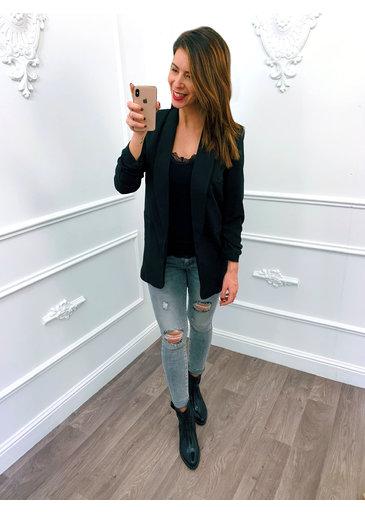 Basic Blazer Black