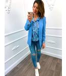 Basic Blazer Blue