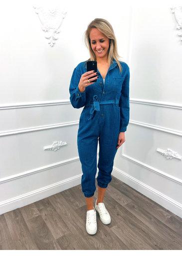 Comfy Spijker Jumpsuit