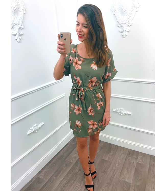 Lily Dress Groen