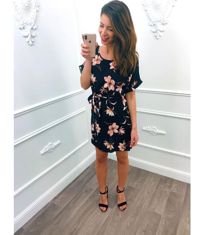 Lily Dress Zwart