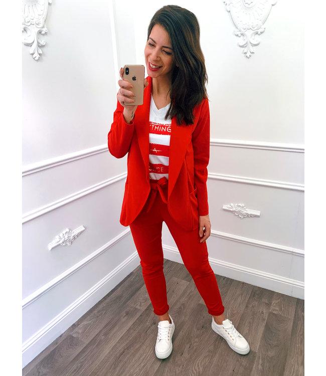 Suit Rood