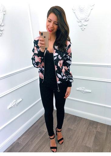 Lelie Jacket Zwart