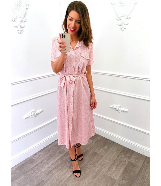 Sprinkles Dress Roze