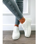 Sneaker Confortables Blanches