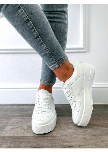 Comfy Sneaker Wit