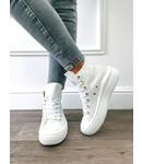 Sneaker Haut Blanc