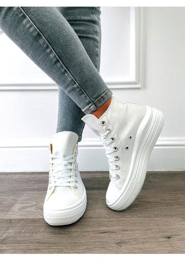 High Sneaker Wit