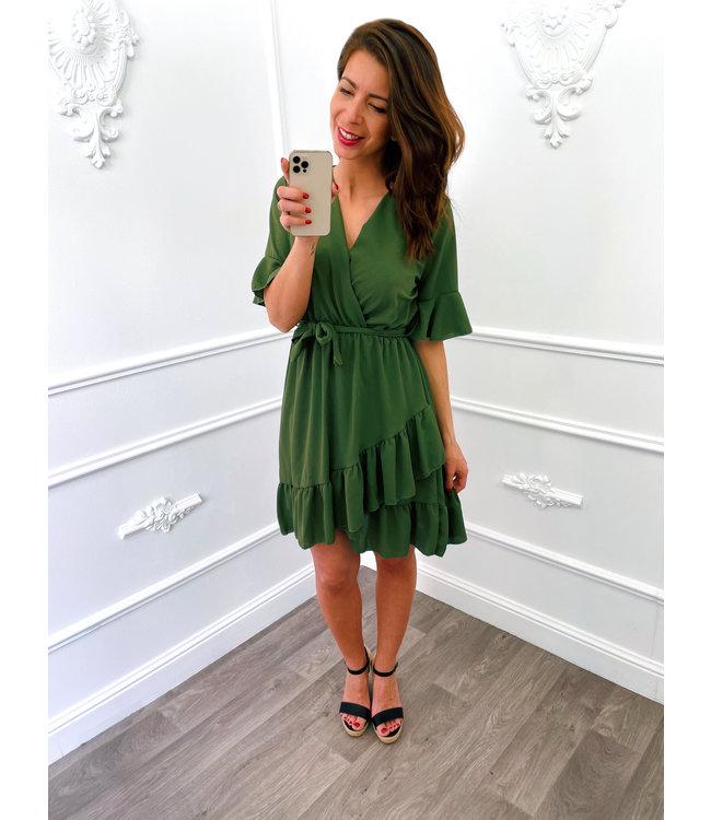 Base Dress Groen