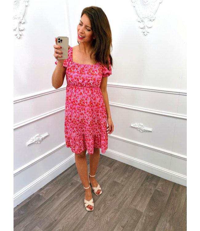 Carréhals Dress Pink