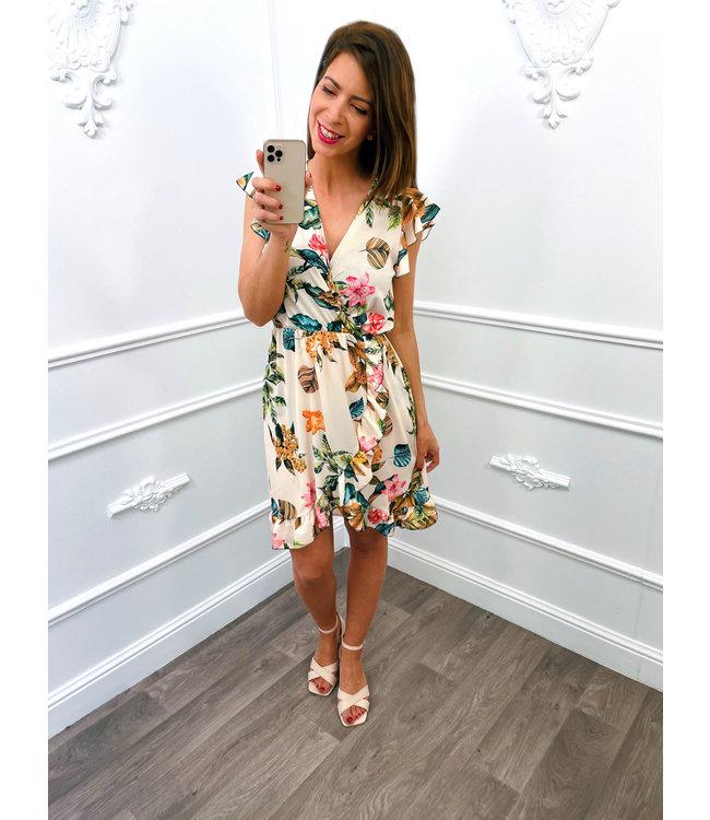 Berries Dress Beige
