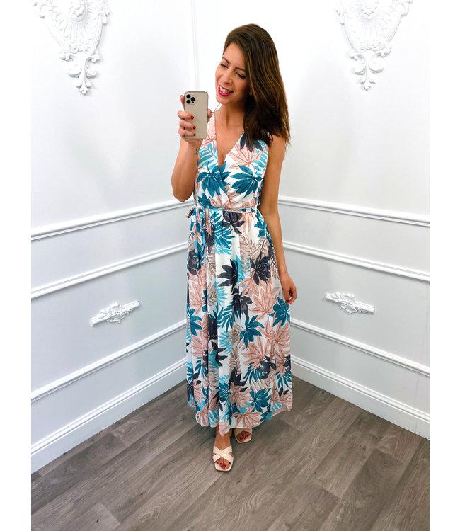 Romantic Leaf Dress Wit