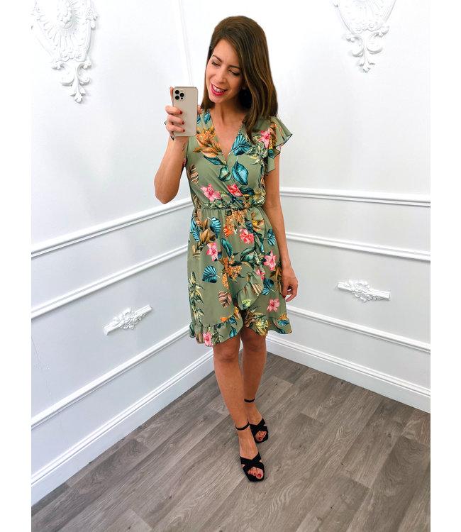 Berries Dress Groen