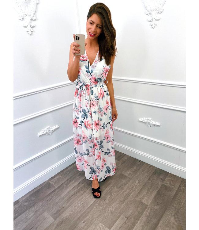 Romantic Flower Dress Wit